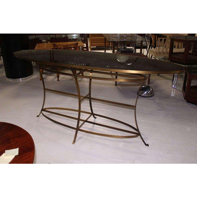 Large Oval Display Table For Sale - Image 10 of 10