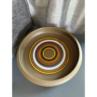 Aldo Londi for Bitossi Italian 'Bullseye' Centerpiece Ceramic Pottery Bowl Preview