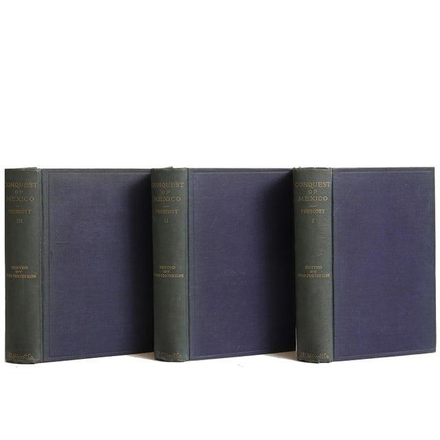 History of the Conquest of Mexico by William H. Prescott. Philadelphia: J. B. Lippincott Company, 1873. Three-volume...