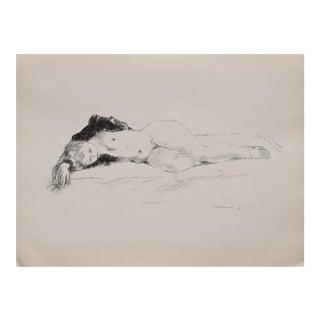 1930s Sleep Photogravure by Alexander Brook