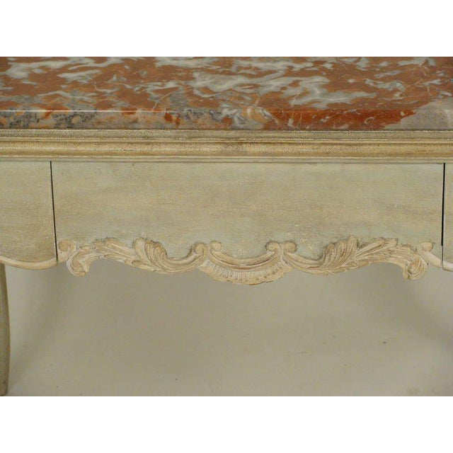 Louis XV Painted Occasional Table For Sale - Image 5 of 9