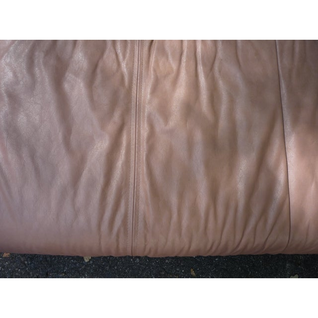 Sarlotti Natuzzi Leather Sectional Sofa - Image 6 of 7
