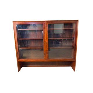 1960s Vintage Brouer Rosewood Display Cabinet For Sale