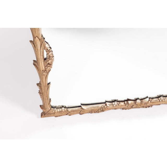 Giltwood Frame Mantel / Fire Place Wall Mirror For Sale - Image 4 of 9