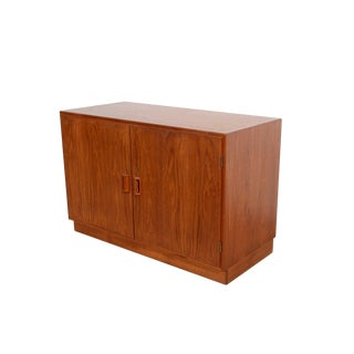 1960s Mid-Century Modern Borge Mogensen Teak Cabinet Credenza For Sale