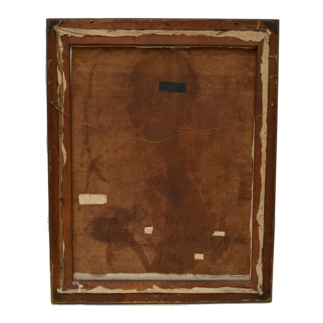 18th Century Portrait of a Gentleman by A. Sadeler For Sale - Image 5 of 6