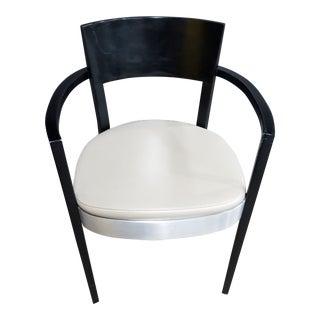 Bernhardt Wood & Metal Guest Chair For Sale