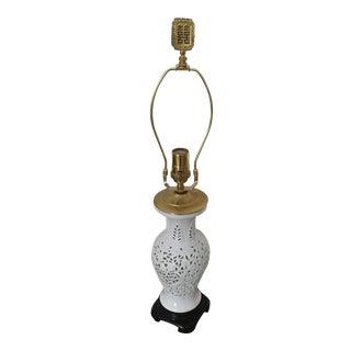 Blanc De Chine Lamp For Sale