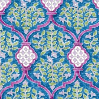 Ferran Sevilla Fabric, Sample, Sapphire in Belgian Linen For Sale