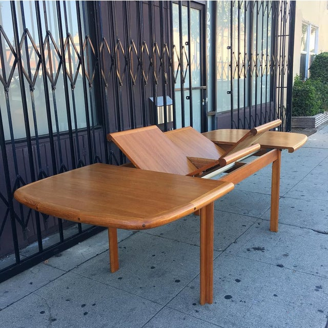 Diethelm Scanstyle Danish Modern Butterfly Dining Table in Teak For Sale - Image 13 of 13