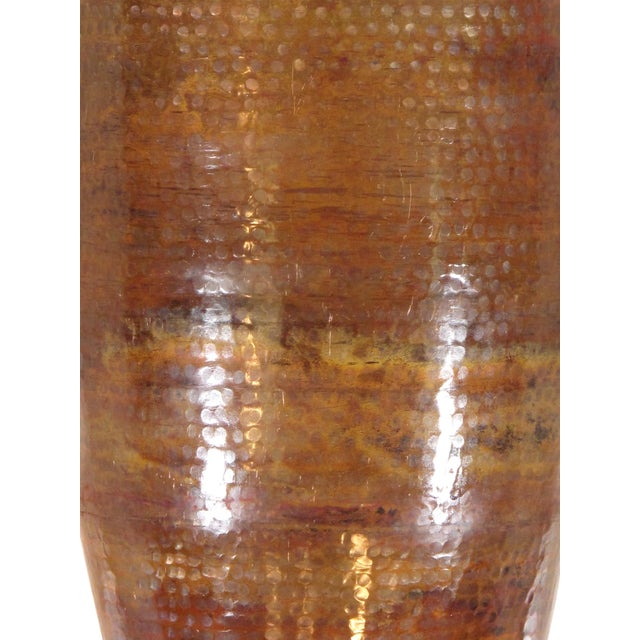 Pasargad's Hand-Forged Copper Vase - Image 4 of 5