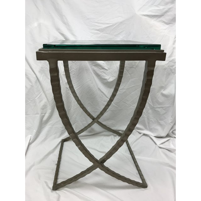 Charleston Forge Talmadge Drink Table For Sale - Image 4 of 6