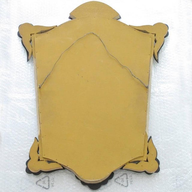 French 1940s Venetian Style Mirror Beveling and Star Etching For Sale In Atlanta - Image 6 of 7