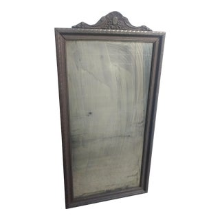 Antique Mirror With Letter