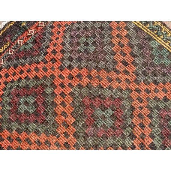 Vintage Handwoven Turkish Rug - 6'6'' x 8'6'' For Sale - Image 5 of 6