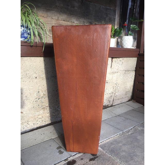 Contemporary Planter Cement Outdoor Planter For Sale - Image 4 of 11