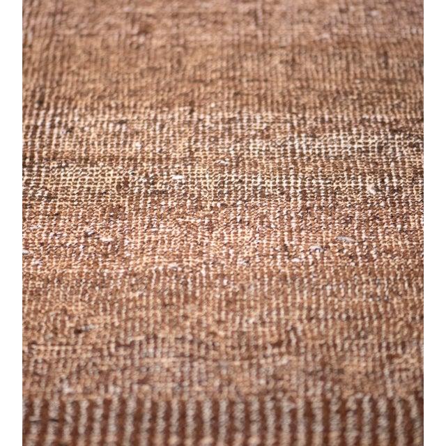 1980s 1980s Handwoven Wool Turkish Flatweave Rug For Sale - Image 5 of 6
