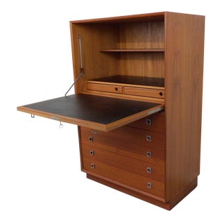 Arne Vodder for Sibast Teak Secretary Desk