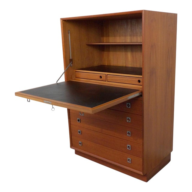 Arne Vodder for Sibast Teak Secretary Desk - Image 1 of 11