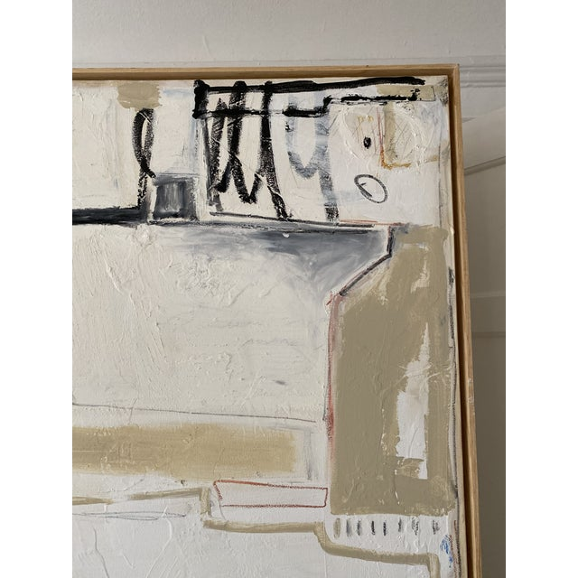 """2010s Josh Young Design House """"Paris, 1932"""" Framed Painting For Sale - Image 5 of 6"""