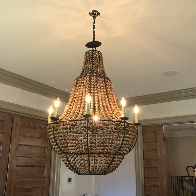 Currey & Company Currey and Company Falconwood Chandelier For Sale - Image 4 of 10