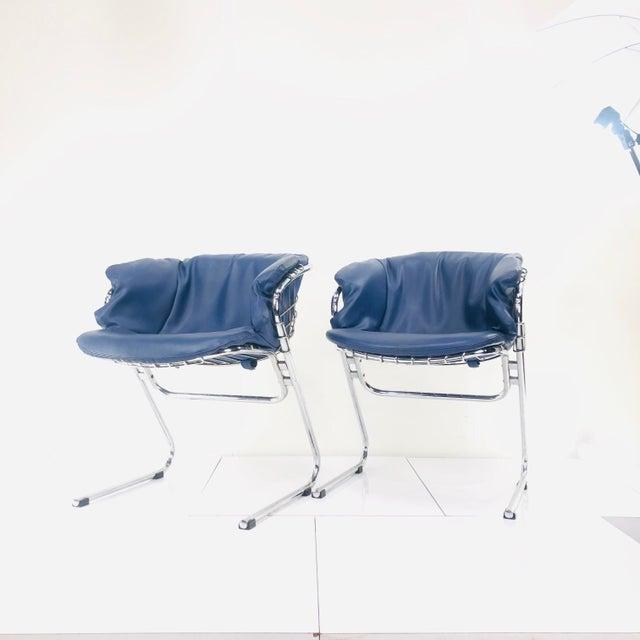 Metal 1960s Vintage Italian Gastone Rinaldi Chairs - Set of 4 For Sale - Image 7 of 13