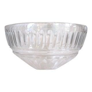 Vintage Tiffany & Co. Cut Crystal Centerpiece Bowl