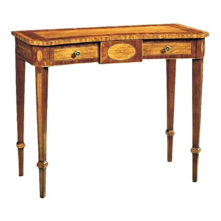 Scarborough House Mahogany Movingue Console Table For Sale
