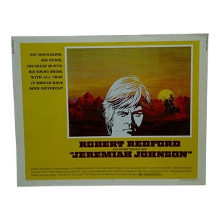 """Vintage Movie Poster """"Jeremiah Johnson"""" by Robert Redford 1972 For Sale"""