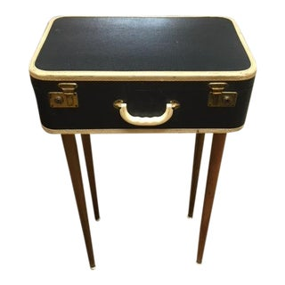 Vintage Suitcase Table For Sale