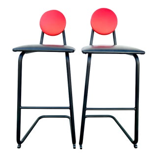 Post Modern Dot Chairs - a Pair For Sale