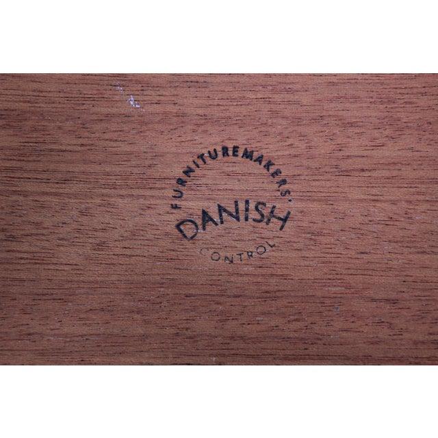 Danish Modern Teak Nesting Tables - Set of 3 For Sale - Image 10 of 11