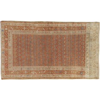 Antique Persian Malayer Rug - 4′ × 6′9″ For Sale