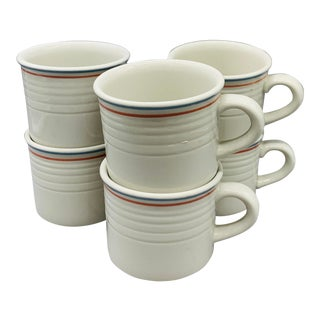 Restaurant Coffee Cups From Sterling China - Set of 6 For Sale