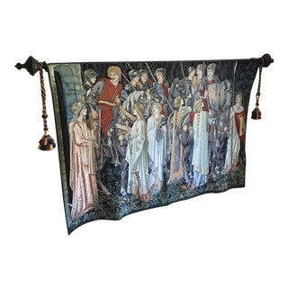 """Quest for the Holy Grail"" Tapestry For Sale"