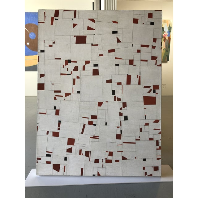 Collage on Canvas by Cecil Touchon For Sale In West Palm - Image 6 of 11