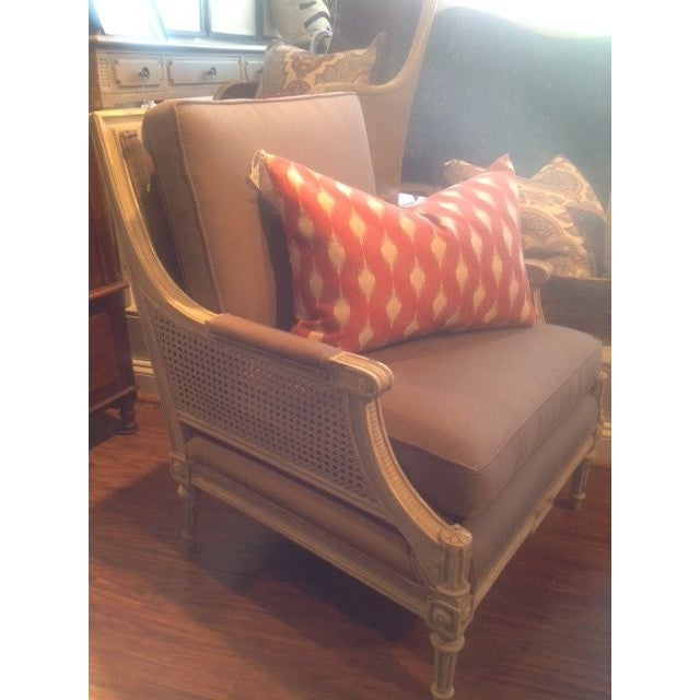 Vintage Cane Arm Chairs - A Pair - Image 5 of 6