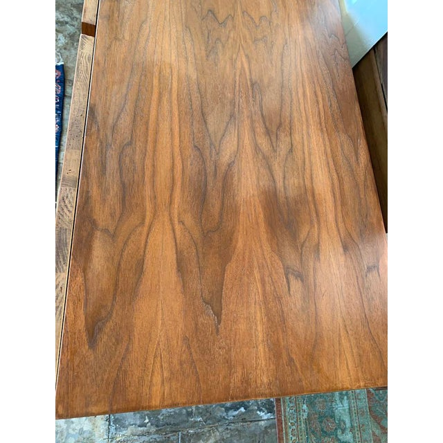 Wood Mid Century Modern American of Martinsville Highboy For Sale - Image 7 of 11