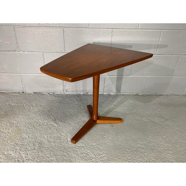 Mid-Century Modern 1960s Mid-Century Swedish Modern Dux Teak Side Table For Sale - Image 3 of 13