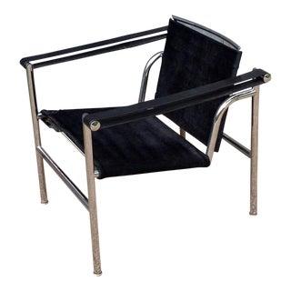Black Le Corbusier Basculant Chair