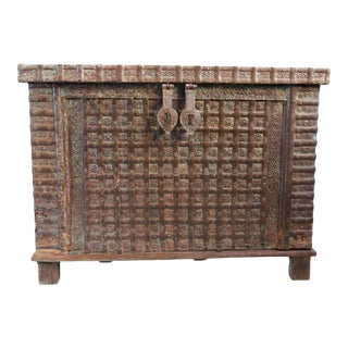 Antique India Dowry Chest
