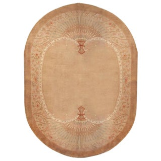 Unique Chinese Art Deco Rug - 7′ × 8′9″ For Sale
