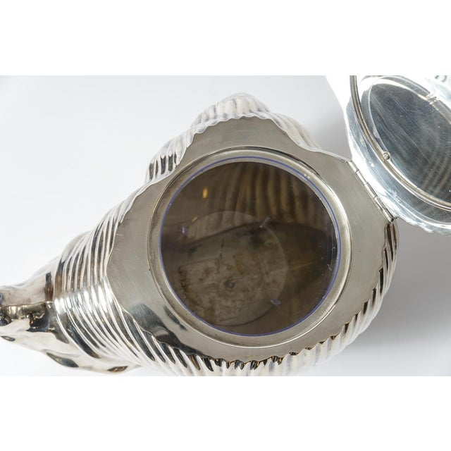 Italian Fabulous Snail Ice Bucket Made by Teghini in Florence C.1970 For Sale In West Palm - Image 6 of 13