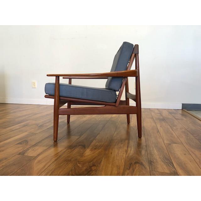 Grete Jalk Grete Jalk Danish Teak Lounge Chair For Sale - Image 4 of 13