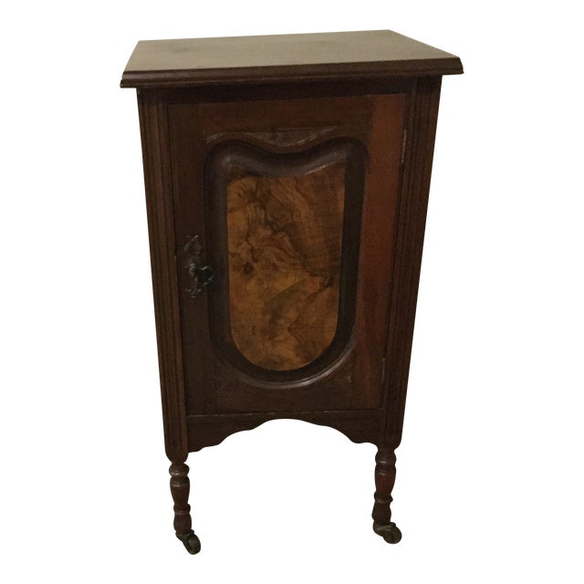 Antique Walnut Half Commode - Image 1 of 8