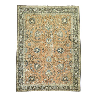 Shabby Chic Antique Persian Tabriz Rug, 8'1'' x 10'11''