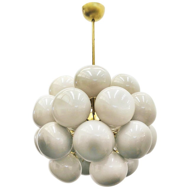 Gold Ventiquattro Sputnik Chandelier by Fabio Ltd For Sale - Image 8 of 8