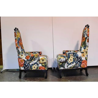 James Mont Style Chairs by Henredon - a Pair Preview