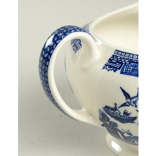 Johnson Brothers Willow Blue Creamer Preview