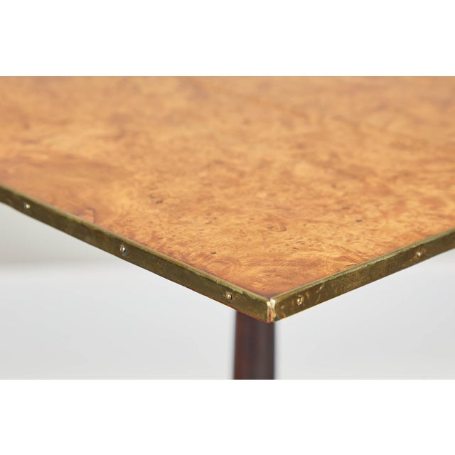 Mid-Century Modern Pair of Early 19th Century Swedish Pedestal Tilt-Top Tables For Sale - Image 3 of 11